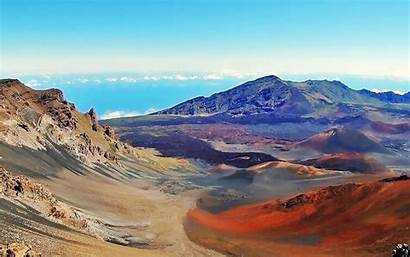 Crater Wallpapers Hawaii Haleakala Maui National Park