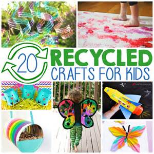 20 crafts from recycled materials i arts n crafts