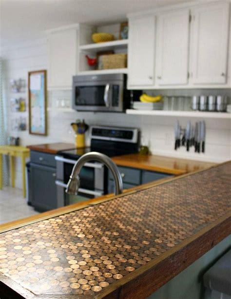 fabriquer ilot central cuisine pas cher 5 façons de transformer un comptoir de cuisine sans le