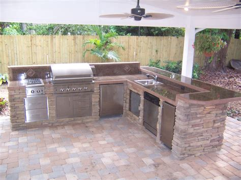 permanent kitchen island outdoor kitchen creations orlando ppi 1469