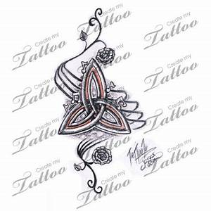 Triquetra Tattoos Trinity Knot Celtic Symbol Meanings ...