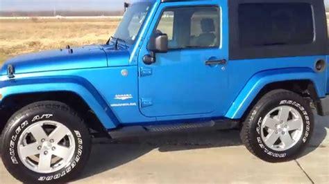 jeep sahara blue jeep wrangler sahara automatic 2010 blue navigation 2 tone