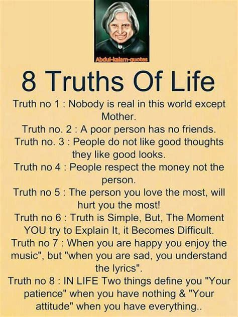 image result  abdul kalam quotes  truth  life