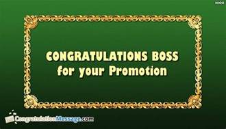 Congratulations On Your Promotion Boss