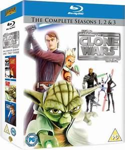 Star Wars: Clone Wars - Seasons 1-3 Blu-ray Zavvi com