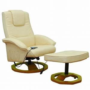 Relaxsessel Mit Hocker : massagesessel relaxsessel mit hocker creme wei g nstig kaufen ~ Buech-reservation.com Haus und Dekorationen