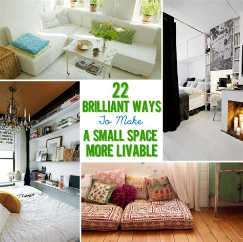 Cute Living Room Ideas For Small Spaces 22 brilliant ideas for your tiny apartment