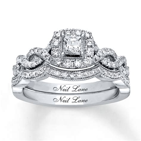 neil bridal 7 8 ct tw diamonds 14k white gold 940310400 sterlingjewelers