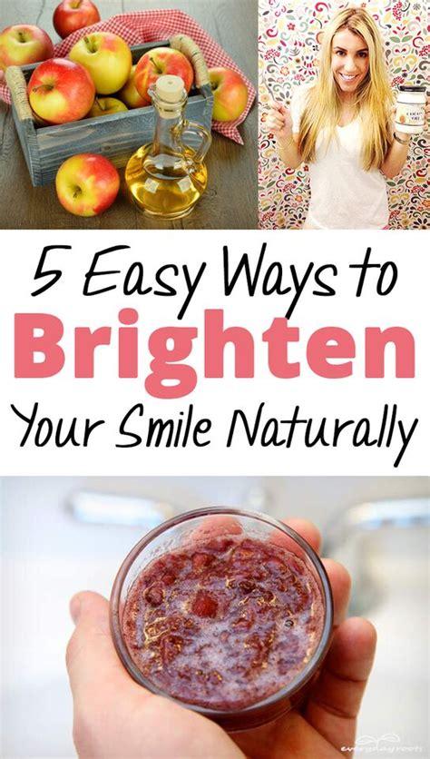 5 Easy Ways To Brighten Your Smile Naturally  Brick & Glitter