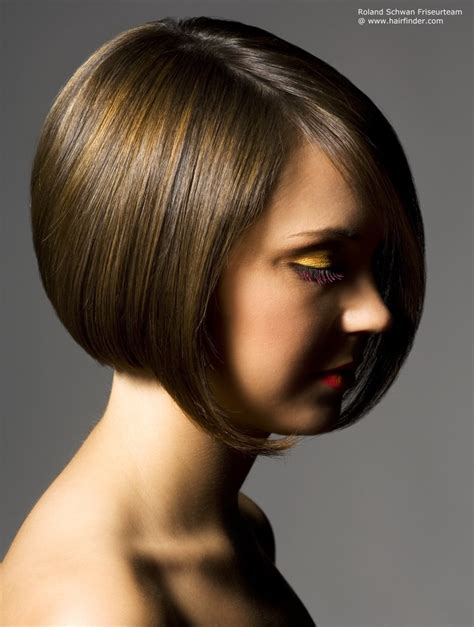 short bob  gradation     volume
