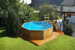 Pool Mit Holz : holzpool weka korsika mit sandfilteranlage schwimmbecken aus holz eine erfrischende ~ Orissabook.com Haus und Dekorationen