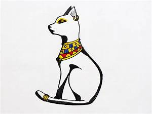 How to Draw Bastet in Cat Form (with Pictures) - wikiHow