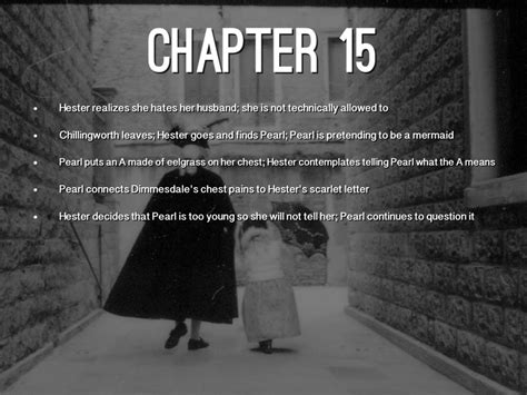 chapter 15 summary for the scarlet letter the scarlet the scarlet letter by alyssa brockman 12847