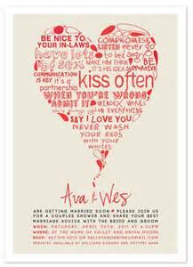 wedding advice ewe hooo minted design challenge quot marriage advice quot wedding shower invite