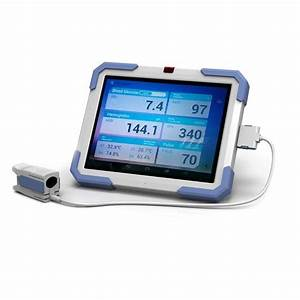 Bg10 Non Invasive Blood Glucose Meter With 9 7 Screen Painless Nontraumatic Manufacturers And