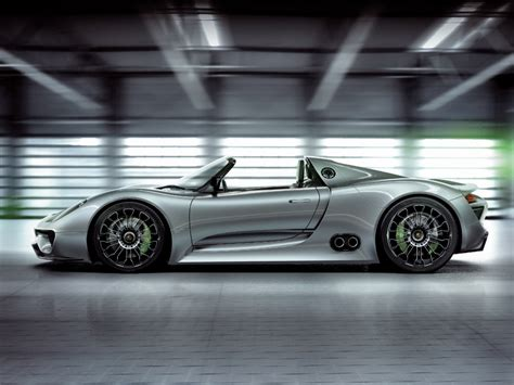 porsche  spyder concept   wallpapers