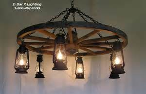 ww026 rustic wagon wheel chandelier light fixture with