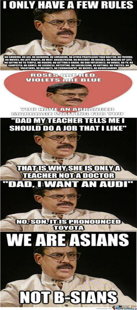 Indian Parents Memes - typical indian parents by coolrishi20 meme center