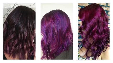 tendance coloration 2018 tendance coloration tout savoir sur les cheveux violets