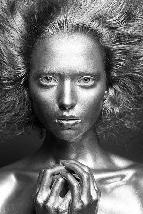 Silver  Inspired!  Pinterest  Glitter, Body Paint And
