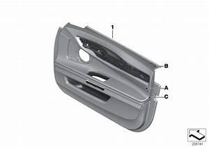 Bmw 750i Interior Right Front Moulding  Alpina  Trim  Door