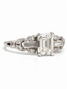 emerald cut engagement rings with wedding band With best wedding band for emerald cut engagement ring