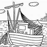 Coloring Boat Pages Boats Printable Cartoon Drawing Simple Cool2bkids Tugboat Bass Getdrawings Getcolorings Motor Bo sketch template
