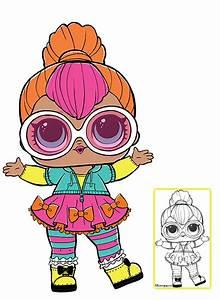Lol Surprise Doll Coloring Pages  U2013 Page 10  U2013 Color Your Favorite Lol Surprise Doll