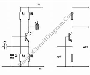 Transistor Common Base Amplifier  U2013 Simple Circuit Diagram