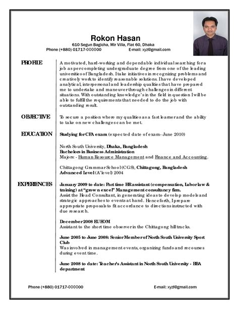 How To Write A Professional Cv Template by Best Photos Of Professional Cv Exles Professional Cv