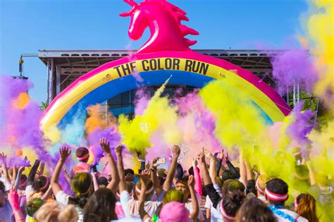 5k color run the color run returns to this september with