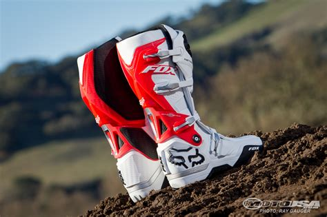 fox motocross 2012 fox racing instinct boots review photos motorcycle usa