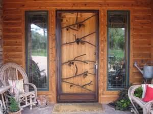 Custom Glass Cabinet Doors by Natural Living Doors Rustic Entry Salt Lake City