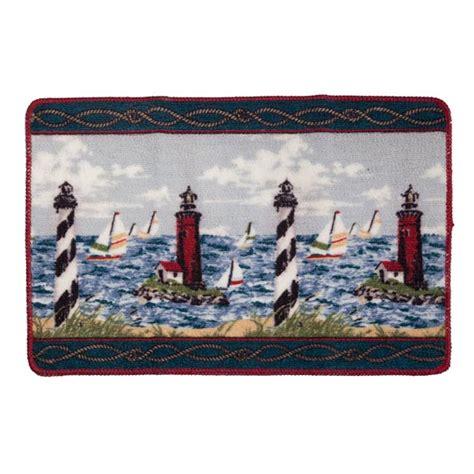 Lighthouse Bath Rugs lighthouse bath mat nautical bath rugs walter