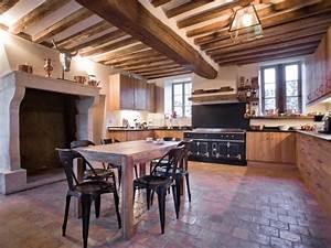 renovation cuisine ancienne la cornue vintage antiquity With decoration maison ancienne interieur