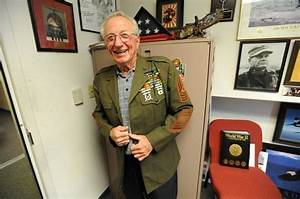 World War II vet retires after 65 years with Marines - The ...