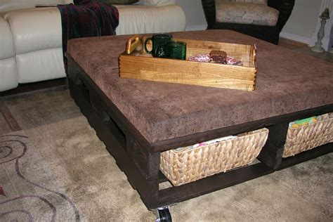 coffee table   shipping pallet