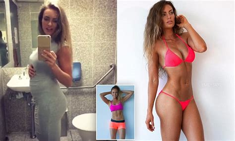 emily skye posts video revealing  incredibly bloated