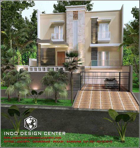 rumah minimalis  lantai tampak  lantai karya arsitek idc