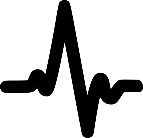 Heartbeat Svg Png Icon Free Download (#534448 ...