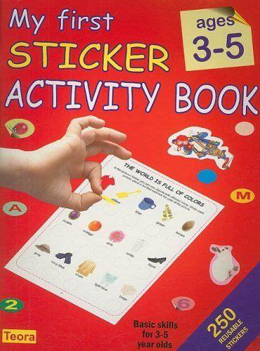 my sticker activity book