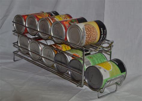 kitchen can storage rack i10direct fifo food storage can rack organizer rotation 6498