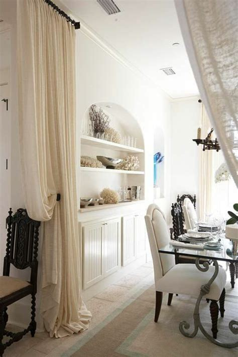 rideau separation cuisine salon la séparation de pièce amovible optez pour un rideau