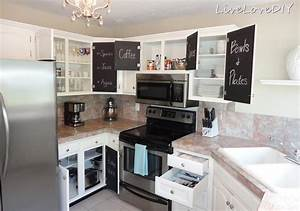 Small kitchen decor ideas kitchen decor design ideas for Kitchen colors with white cabinets with paper towel wall art