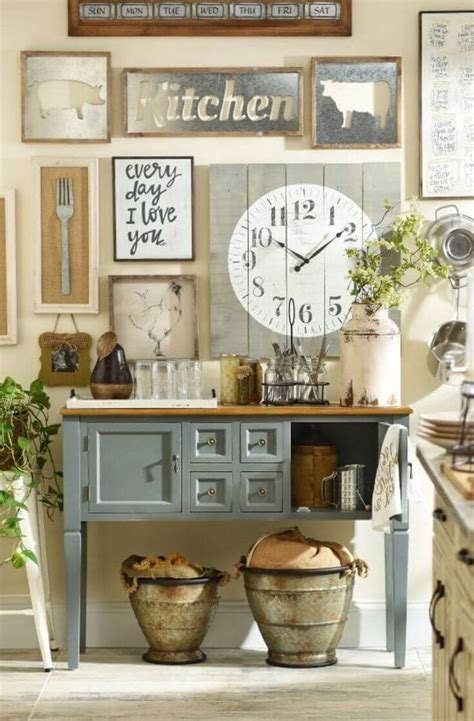 Country Decorating Ideas For The Kitchen by 27 Best Country Cottage Style Kitchen Decor Ideas And