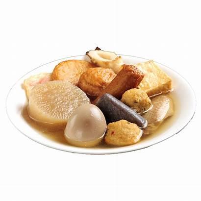Smart Way Dikon Stewed Fishcakes Flavored Radish
