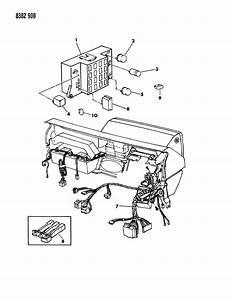 Dodge Dakota Instrument Cluster Wiring Diagram : 1989 dodge dakota instrument panel wiring n body ~ A.2002-acura-tl-radio.info Haus und Dekorationen