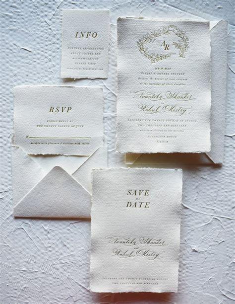 wedding invitation collection babooche calligraphy