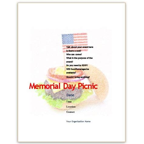 patriotic templates  ms word perfect  july