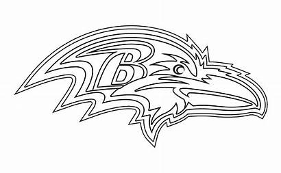 Ravens Baltimore Nfl Orioles Bowl Clipart Coloring